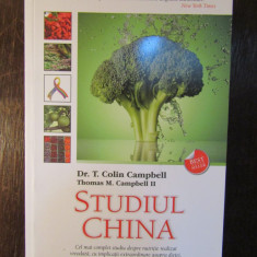 Studiul China - T. Colin Campbell
