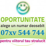 Numar AUR - 07xv.544.744 - frumos special usor, numere vip, cartela gold simplu