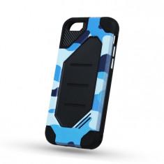 Husa HUAWEI P8 Lite 2017 \ P9 Lite 2017 - Defender Army (Albastru) - Husa Telefon, Plastic, Carcasa