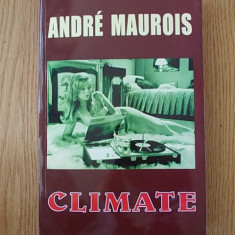 ANDRE MAUROIS- CLIMATE