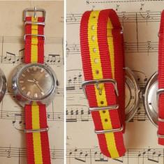 2 ceasuri Poljot cal 2609.H si 2614.2H, 17 rubine, anii 70, functionale - Ceas barbatesc Poljot, Mecanic-Manual