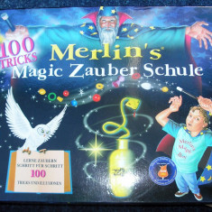 Set magie Merlin's Magic (fara carticica) - Made in Germany