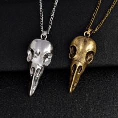 Pandantiv / Lantisor RABESCHADEN craniu mesagerul lui ODIN skull - Pandantiv fashion