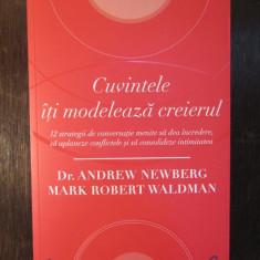 CUVINTELE ITI MODELEAZA CREIERUL-Dr. Andrew NewbergMark Robert Waldman - Carte dezvoltare personala
