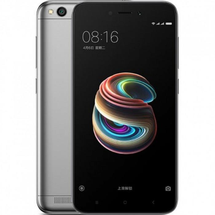 Smartphone Xiaomi Redmi 5A , Dual Sim , 5 Inch , Quad Core , 2 GB RAM , 16 GB , Retea 4G , Android Nougat , Gri