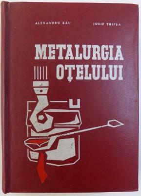 METALURGIA OTELULUI de ALEXANDRU RAU si IOSIF TRIPSA , 1973 foto