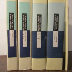 FILOSOFIA GREACA PANA LA PLATON( 4 VOLUME, INDICI) - Carte Filosofie
