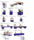 Vand utilaj pt. termopan pvc,linie complete automate si linie pt.geam termopan