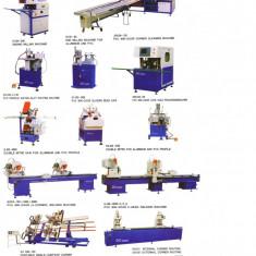 Vand utilaj pt. termopan pvc, linie complete automate si linie pt.geam termopan