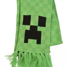 Fular Creeper Face licenta Minecraft Jinx