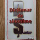 DICTIONAR DE SINONIME- DRAGOS MOCANU