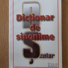 DICTIONAR DE SINONIME- DRAGOS MOCANU
