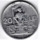 20 lei 1951  XF/a.UNC  RPR (12), Aluminiu