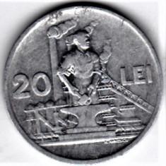 20 lei 1951 XF/a.UNC RPR (12) - Moneda Romania, Aluminiu