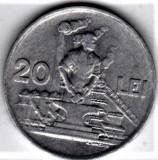 20 lei 1951  a.UNC/UNC  RPR (5), Aluminiu