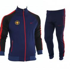 Trening Steaua - FCSB - Bluza si pantaloni conici - Modele noi - 1257 - Trening barbati, Marime: M, Culoare: Din imagine