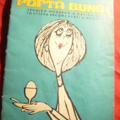 Ministerul Sanatatii- R.Visinescu- Pofta Buna !-Tehnica gatitului, desene Matty