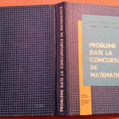 Probleme Date La Concursurile De Matematica - T. Roman, O. Sacter, Gh.Simionescu - Culegere Matematica, Didactica si Pedagogica