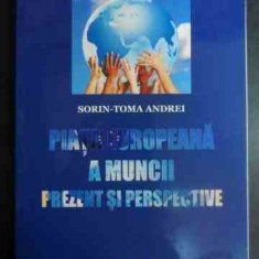 Piata Europeana A Muncii Prezent Si Perspective - Sorin -toma Andrei, 541397 - Carte de vanzari