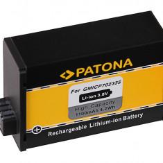1 PATONA | Acumulator tip GARMIN VIRB 360 VIRB360 GMICP702335 - Baterie Camera Video