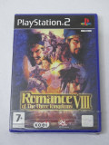 Joc Sony Playstation 2 PS2 - Romance of The Three Kingdoms VIII - sigilat - PAL, Role playing, Toate varstele, Single player