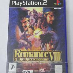Joc Sony Playstation 2 PS2 - Romance of The Three Kingdoms VIII - sigilat - PAL, Role playing, Toate varstele, Single player