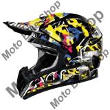 MBS Casca motocross Airoh Cr901 Rookie, negru-galben, M=57-58, Cod Produs: CR1RO17MAU