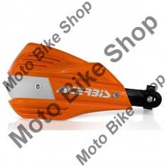 MBS ACERBIS HANDSPOILER X-FACTOR, ktm-orange16- weiss, uni=22+28.5mm, Cod Produs: 17557011AU - Protectii maini Moto