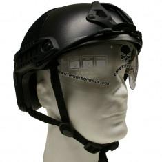 Casca FAST Negru cu ochelari Emerson