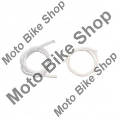 MBS Furtun benzina transparent, plastic, 6mm, Cod Produs: EV200AU - Furtun benzina Moto