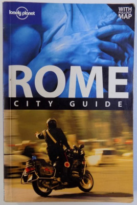 ROME CITY GUIDE - LONELY PLANET by DUNCAN GARWOOD and ABIGAIL HOLE , 2008 foto