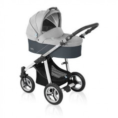 Cărucior 2 in 1 Baby Design Lupo Grey 2016 - Carucior copii 2 in 1