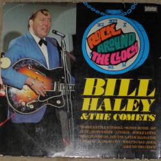 Vinyl/vinil Bill Haley – Rock Around The Clock, live in Stockholm, Germany, VG - Muzica Rock & Roll