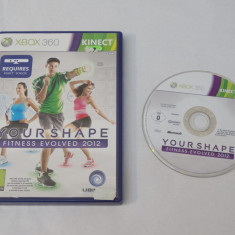 Joc Xbox 360 Kinect - Your Shape Fitness Evolved 2012 - PAL - Jocuri Xbox 360, Sporturi, Toate varstele, Single player