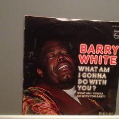 BARRY WHITE - WHAT AM I GONNA DO....(1975/PHILIPS/W. Germany) - VINIL Single/ - Muzica Rock