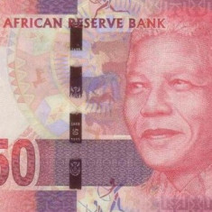 Bancnota Africa de Sud 50 Rand (2013) - P140 UNC