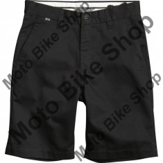 MBS FOX KINDER SHORT ESSEX SOLID BLACK, black, 30, Cod Produs: 0195600130AU