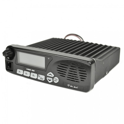 Resigilat : Statie radio UHF Midland Alan HM435 fara microfon 400-470 MHz Cod G935 foto