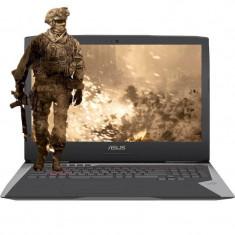 Laptop Asus ROG G752VS-BA279R 17.3 inch FHD Intel Core i7-7700HQ 32GB DDR4 1TB HDD 256GB SSD nVidia GeForce GTX 1070 8GB Windows 10 Pro Gray