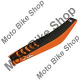 MBS Husa sit Blackbird Double Grip3 SX/SX-F/2016, negru/portocaliu, Cod Produs: BB1524HAU
