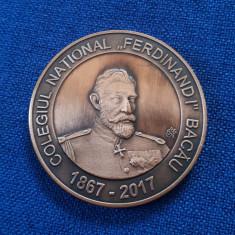 Medalie Colegiul national Ferdinand I  - Bacau