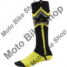 MBS FOX MX SOCKEN FRI ROCKSTAR THICK, black-yellow, S=6-8=39-42, Cod Produs: 08015019SAU
