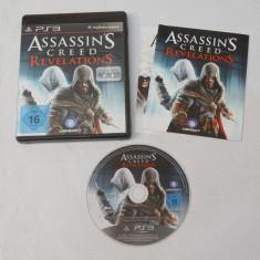 Joc SONY Playstation 3 PS3 - Assassin's Creed Revelations - Jocuri PS3, Actiune, Toate varstele, Single player