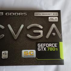 Placa Video GPU EVGA NVIDIA GTX780 Ti SC Superclocked ACX Cooling Pachet Complet - Placa video PC