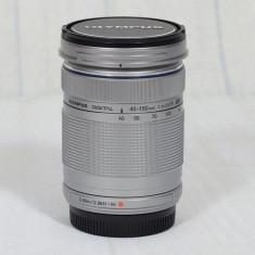 Olympus M.ZUIKO DIGITAL ED 40-150 mm f4.0-5.6 R argintiu - Obiectiv mirrorless Olympus, Micro Four Thirds
