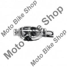 MBS OAKLEY MX BRILLE O2 WHITE MATT RACE READY ROLL-OFF, weiss matt, ROLL-OFF, Cod Produs: 706820AU - Ochelari moto