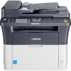 Multifunctionala LaserJet Monocrom, A4, Kyocera, FS1320MFP, ADF, 20 pagini/minut, 20.000 pagini lunar, 1200 DPI, Scaner, FAX, USB, Toner inclus, 2 - Imprimanta laser alb negru