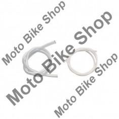 MBS Furtun benzina transparent, plastic, H 8mm, Cod Produs: EV201AU - Furtun benzina Moto