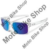MBS OAKLEY SONNENBRILLE SLIVER, polished clear, sapphire iridium, Cod Produs: 926206AU, Unisex