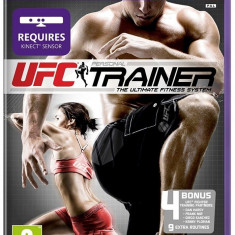 UFC Personal Trainer - Kinect - XBOX 360 [Second hand] - Jocuri Xbox 360, Board games, 16+, Multiplayer